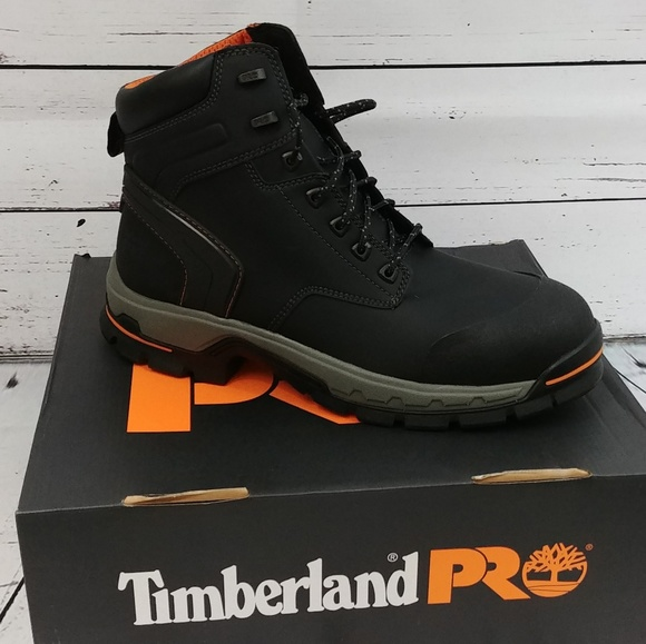 release info on 100% quality quarantee good Timberland Pro Stockdale Safety Boots NWT